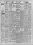 Portland Daily Press: February 19,1885