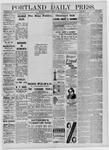 Portland Daily Press: February 21,1885