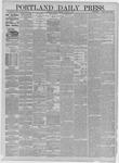 Portland Daily Press: February 27,1885