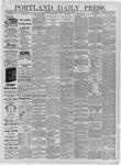 Portland Daily Press: February 28,1885