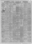 Portland Daily Press: March 02,1885