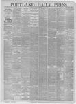 Portland Daily Press: March 05,1885