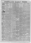 Portland Daily Press: March 07,1885