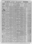 Portland Daily Press: March 11,1885