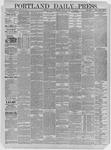 Portland Daily Press: March 12,1885