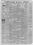 Portland Daily Press: March 13,1885