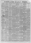 Portland Daily Press: March 17,1885