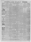Portland Daily Press: March 20,1885