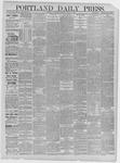 Portland Daily Press: March 21,1885