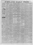 Portland Daily Press: March 24,1885