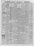 Portland Daily Press: March 30,1885