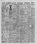 Portland Daily Press: May 06,1889