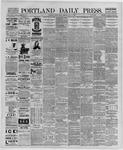 Portland Daily Press: May 17,1889