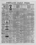 Portland Daily Press: May 22,1889