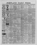 Portland Daily Press: May 30,1889