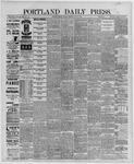 Portland Daily Press: June 03,1889