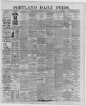Portland Daily Press: June 13,1889