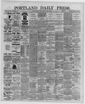 Portland Daily Press: June 10,1889