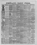 Portland Daily Press: June 14,1889