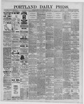 Portland Daily Press: June 24,1889