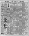 Portland Daily Press: July 29,1891