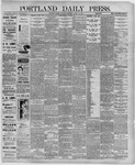 Portland Daily Press: August 15,1891
