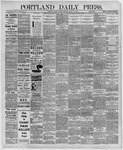 Portland Daily Press: August 18,1891
