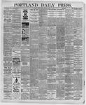 Portland Daily Press: August 21,1891