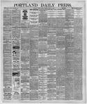 Portland Daily Press: August 24,1891