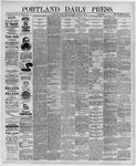 Portland Daily Press: August 27,1891