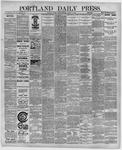 Portland Daily Press: August 28,1891