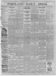 Portland Daily Press: January 01,1892