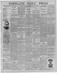 Portland Daily Press: January 22,1892