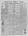 Portland Daily Press: January 26,1892