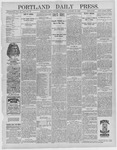 Portland Daily Press: January 27,1892