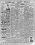 Portland Daily Press: January 29,1892
