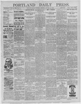 Portland Daily Press: January 30,1892
