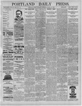 Portland Daily Press: March 10,1892