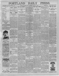 Portland Daily Press: March 11,1892