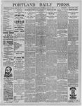 Portland Daily Press: March 12,1892