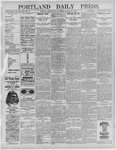 Portland Daily Press: March 14,1892
