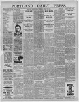 Portland Daily Press: March 25,1892