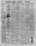 Portland Daily Press: March 29,1892