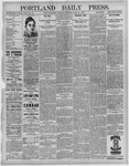 Portland Daily Press: March 31,1892