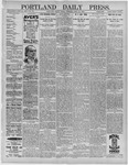 Portland Daily Press: April 22,1892
