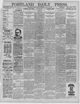 Portland Daily Press: April 25,1892