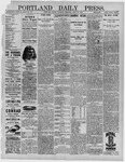 Portland Daily Press: April 28,1892