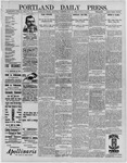 Portland Daily Press: May 21,1892