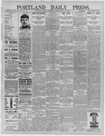 Portland Daily Press: May 25,1892