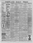 Portland Daily Press: May 26,1892